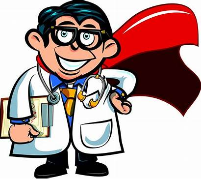 Doctor Cartoon Doctors Clipart Clip Cliparts Chair