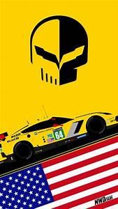Corvette Racing iPhone Wallpaper GM Authority