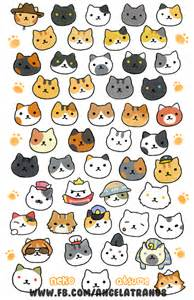 Atsume Neko Cat Drawings