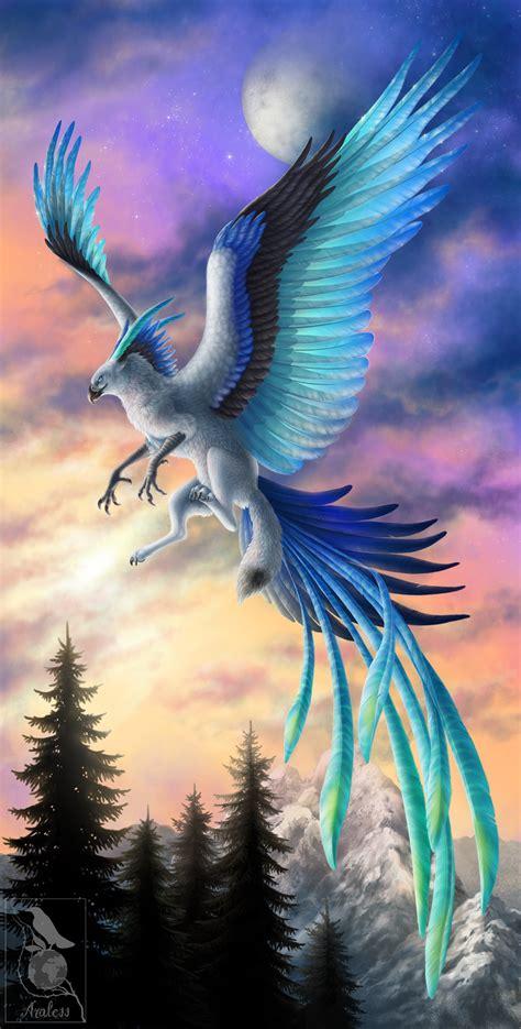 species eaglefox  frost dragons  myths