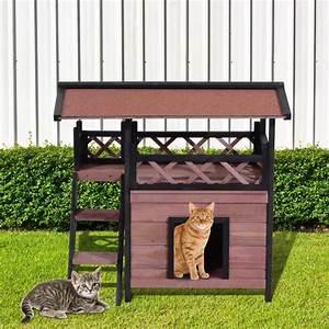 Cabane Pour Chat Exterieur Pas Cher : niche pour chat exterieur achat vente niche pour chat exterieur pas cher cdiscount ~ Teatrodelosmanantiales.com Idées de Décoration