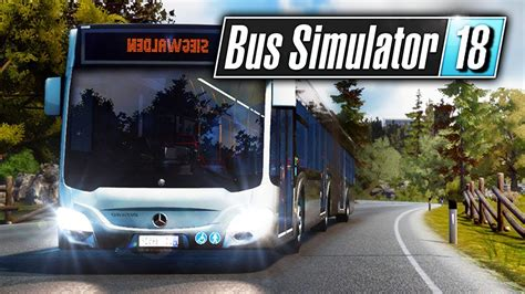 Bus Simulator 18 Gameplay Pc