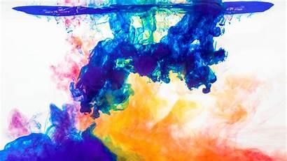 4k Water Desktop Wallpapers Colorful Paint Chromebook