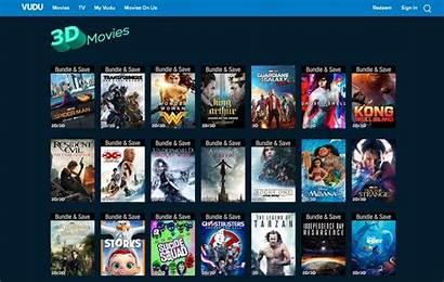 3d Vudu Streaming Movies Need Service Stream