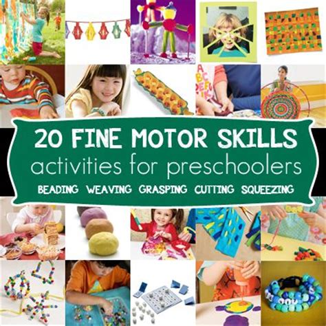 20 motor skills activities for preschoolers repinned 869 | 24c2ebdb0fde09c93ed90449258719d8