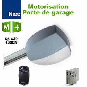 motorisation porte de garage nice spin40 1000 n 1 With motorisation porte de garage nice