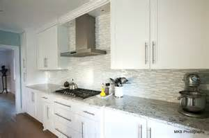back painted glass kitchen backsplash bianco romano granite design ideas