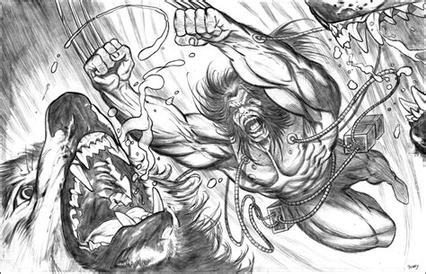 Wolverine as Weapon X final by dfbovey on DeviantArt