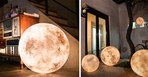 moon lanterns luna a lantern that looks like a moon colossal