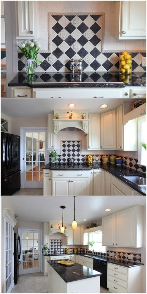 Your Kitchen by 7 Ways To Decorate Your Kitchen With Checkered Pattern
