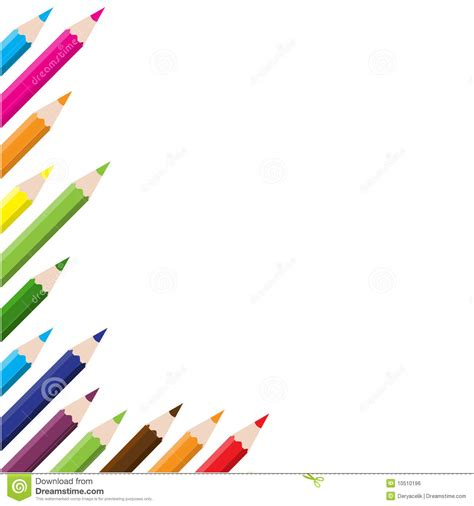 crayon set 4 in 1 color pencils background royalty free stock image image