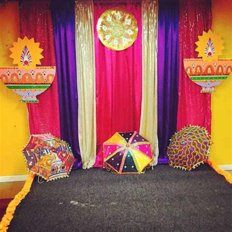 Background Decorations by Diwali Photo Booth Backdrop Wedding