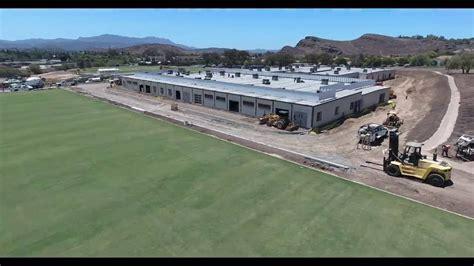 la rams  athletic practice facility timelapse video