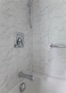 Carrara Marble Bathroom Shower Tile