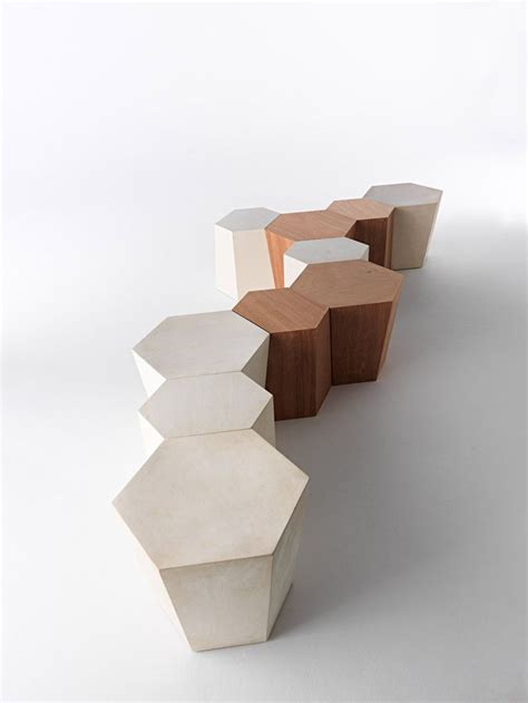 The dorset coffee table by modloft is the ideal focal point for any modern living space. Horm Hexagon Wooden Coffee Table, Stool, End Table | Contemporary Living Room Furniture(이미지 포함 ...
