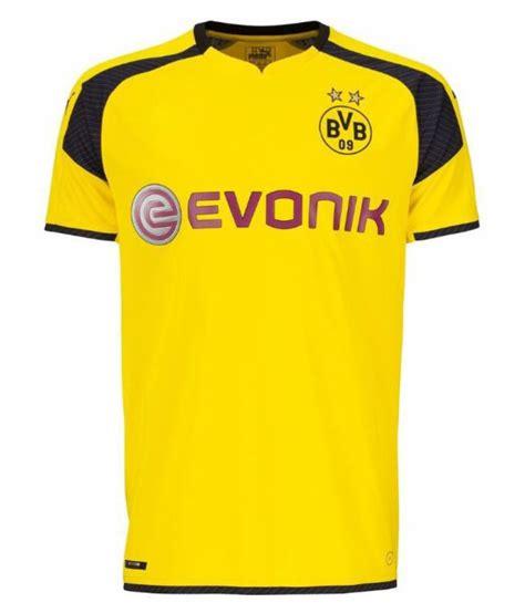 Dortmund Yellow Polyester Jersey - Buy Dortmund Yellow ...