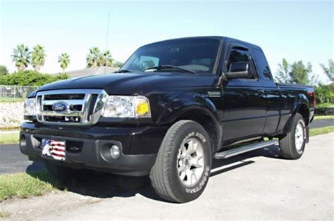 sell used 2009 ford ranger 4x4 supercab xlt 5 speed sport package no tacoma dakota in miami