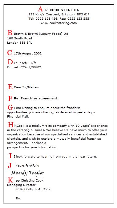 formal business letter template ireland formal letter