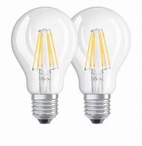 Led Lampe : osram e27 led lampe base filament a40 7w 806lm warmweiss doppelpack ~ Eleganceandgraceweddings.com Haus und Dekorationen
