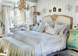 Chambre Shabby Chic : chambre dco romantique latest chambre deco romantique amenagement chambre ambiance romantique ~ Preciouscoupons.com Idées de Décoration