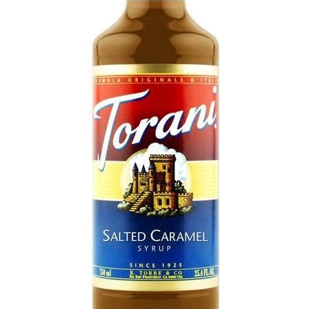 Monin's salted caramel syrup makes a great latte, mocha or hot cocoa addition. Torani Salted Caramel Syrup 750 mL Bottle - Coffee Syrup Canada