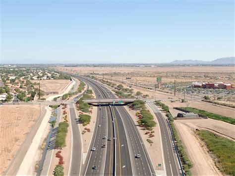 santan freeway srl    gilbert road hov lanes