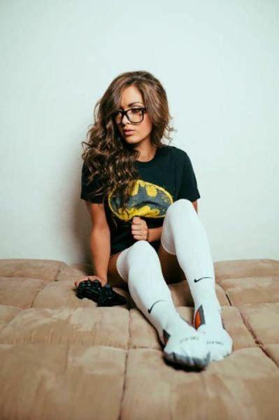 beautiful girls  knee high socks  hot   boos