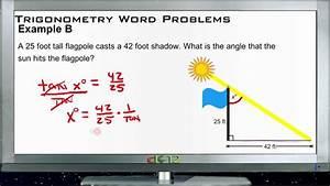 Trigonometry Word Problems  Examples  Basic Geometry