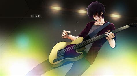Anime Guitar Wallpaper - guitar boy wallpapers hd wallpaper cave