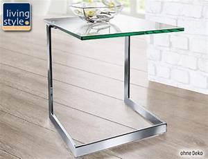 Beistelltisch Glas Chrom : beistelltisch glas com forafrica ~ Markanthonyermac.com Haus und Dekorationen