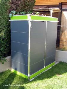 Outdoor Schrank Metall : gartenschrank metall kunststoff garten q gmbh ~ Michelbontemps.com Haus und Dekorationen