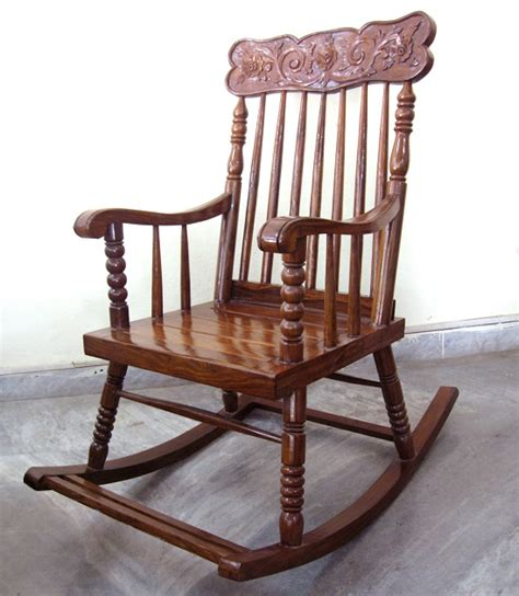 wooden rocking chair used furniture for sale