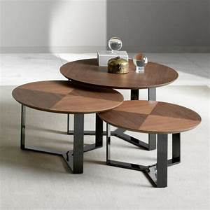 The, Most, Unique, Round, Coffee, And, Side, Tables