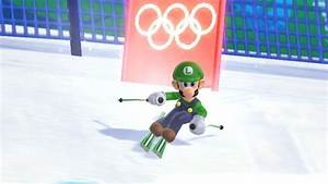 mario and sonic at the olympic winter wii