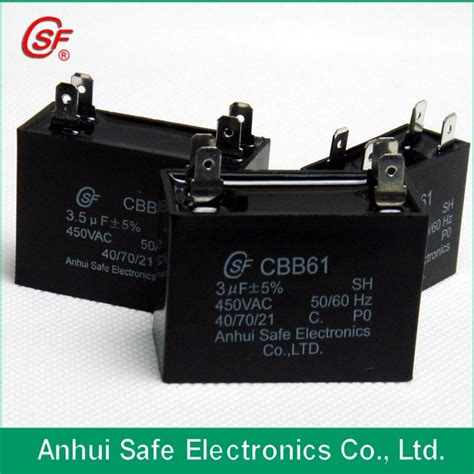 Cbb61 Ceiling Fan Capacitor Suppliers by China Capacitor Capacitors Metallized Supplier