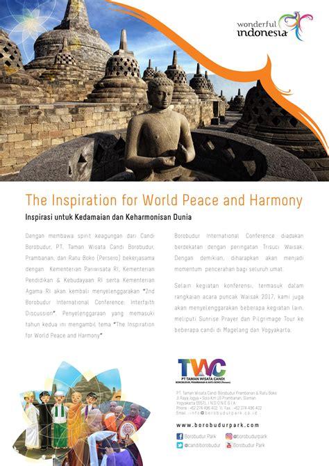 borobudur international conference taman wisata candi