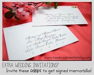 a list of celebrities to invite your wedding most will s With when to send wedding invitations for out of town guests