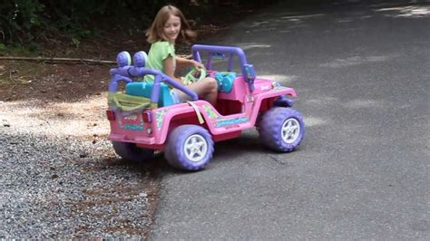 power wheels jeep barbie 12v to 18v conversion power wheels barbie jeep youtube