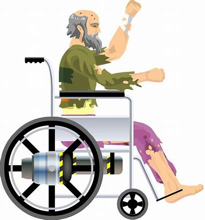 Wheelchair Wheels Guy Transparent Happy Jacksepticeye Willy