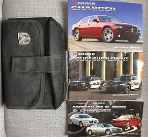 2007 Dodge Charger With Police Supplement Owners Manual