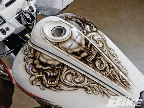 Custom Painted Motorcycle Gas Tanks