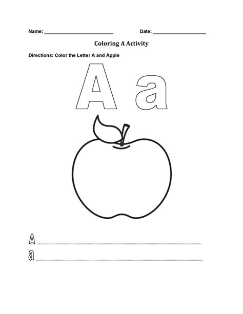 alphabet worksheets coloring pages for