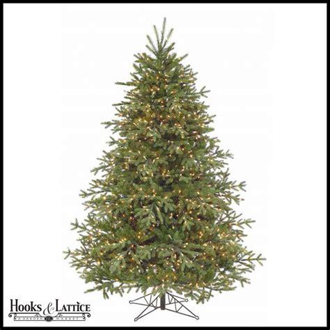 9 ft spruce pre lit christmas tree hooks and lattice