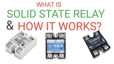 What Solid State Relay How Works