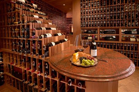 large wine cellar traditional wine cellar san diego