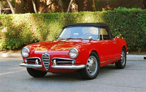 Classic Alfa Romeo by 1961 Alfa Romeo Giulietta Spider 1600cc 5 Speed