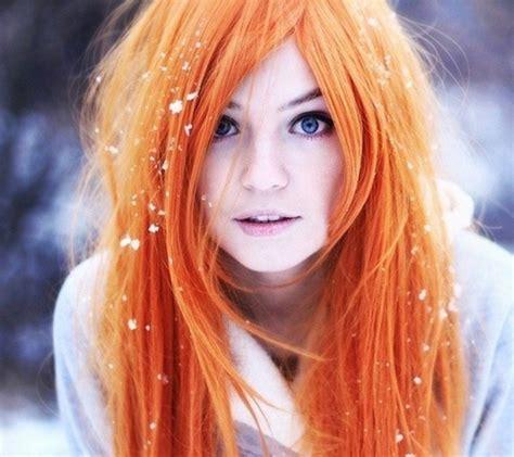 Orange Hair Chalk Hair Chalking Pastels Temporary Hair