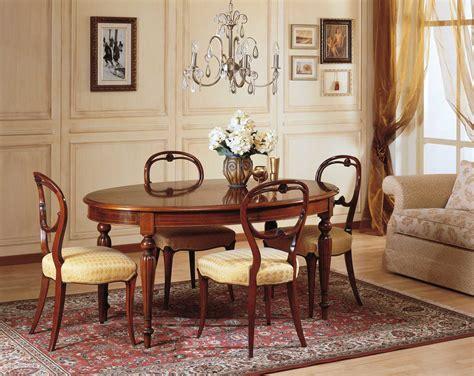 sale da pranzo classiche tavolo da pranzo 800 francese vimercati meda