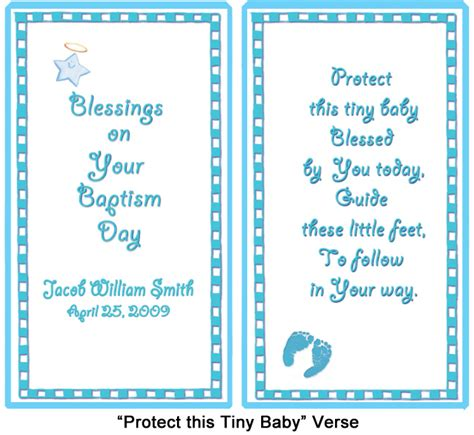 Baby Boy Blessing Poem