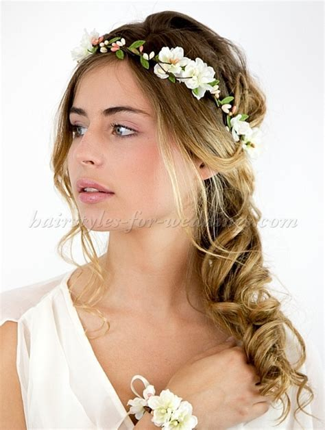 bridal headbands   floral headband for brides   Hairstyles